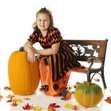 Pumpkin Queen Royalty Free Stock Photos