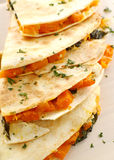 Pumpkin Quesadilla Stack Royalty Free Stock Images