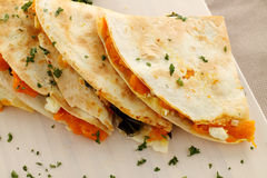 Pumpkin Quesadilla Stack Stock Photos