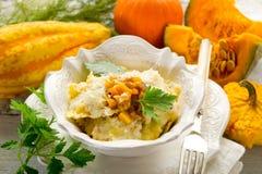 Pumpkin ravioli royalty free stock image
