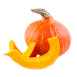Pumpkin red hokkaido Royalty Free Stock Photos