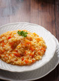 Pumpkin Risotto Royalty Free Stock Image