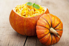 Pumpkin risotto Stock Photography