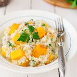 Pumpkin Risotto Stock Images