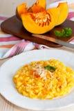 Pumpkin risotto Royalty Free Stock Photography