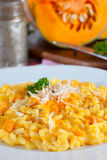 Pumpkin risotto Stock Photo