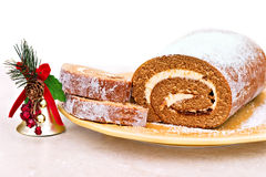 Pumpkin Roll Stock Image
