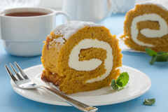 Free Pumpkin Roll Royalty Free Stock Photo - 30500065
