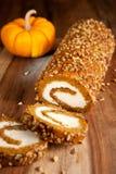 Pumpkin roll Royalty Free Stock Image