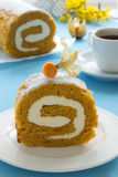 Pumpkin roll Royalty Free Stock Photography