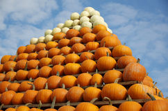 Pumpkin's Pyramid Stock Photos