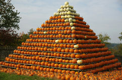 Pumpkin's Pyramid Stock Photography
