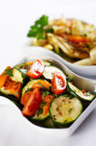 Pumpkin salad Royalty Free Stock Photo