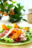 Pumpkin salad royalty free stock images