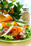 Pumpkin salad Royalty Free Stock Images