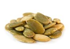 Pumpkin salted seeds Stock Images