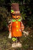 Pumpkin Scarecrow Stock Images