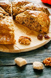 Pumpkin scones Royalty Free Stock Photos