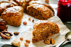 Pumpkin scones Royalty Free Stock Photography