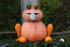 Pumpkin sculpture Royalty Free Stock Photo