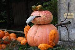 Pumpkin sculpture Royalty Free Stock Images