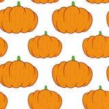 Pumpkin seamless pattern. Colourful vector pumpkin seamless pattern vector illustration