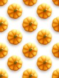 Pumpkin seamless pattern. Modern Autumn background. Vector illustration. EPS10 royalty free illustration