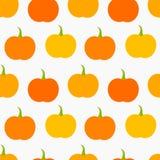 Pumpkin seamless pattern Stock Photo