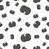 Pumpkin seamless pattern for your design.. Royalty Free Stock Photography