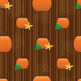 Pumpkin Seamless Tile Royalty Free Stock Photos