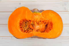Pumpkin in section Royalty Free Stock Images