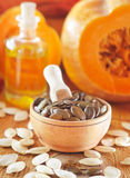Pumpkin seed Royalty Free Stock Images