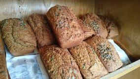 Pumpkin seed bread Royalty Free Stock Photos