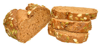 Pumpkin Seed Bread Stock Photography