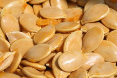 Pumpkin seeds 1 Royalty Free Stock Photo