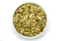 Pumpkin seeds Royalty Free Stock Photos