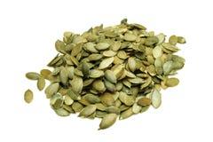 Pumpkin seeds. Royalty Free Stock Photo