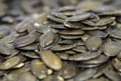 Pumpkin Seeds (background) Stock Image