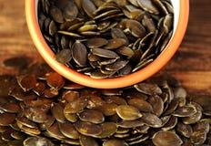 Pumpkin seeds Stock Photography