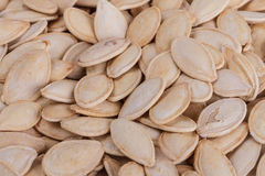 Pumpkin Seeds. Close Up Image of Pumpkin Seeds Stock Photography