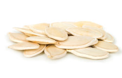 The pumpkin seeds on cooking Stock Images
