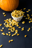 Pumpkin seeds Stock Image