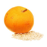 Pumpkin and seeds Stock Image