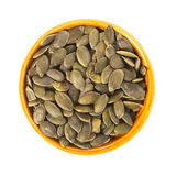 Pumpkin Seeds Isolated Stock Images