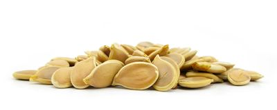 Pumpkin seeds pepitas Royalty Free Stock Image