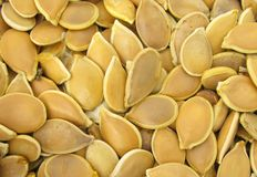 Pumpkin seeds pepitas Stock Images