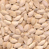 Pumpkin Seeds Seamless Background Royalty Free Stock Photos