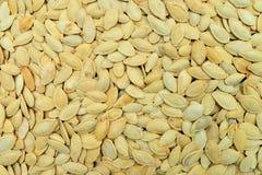 Pumpkin seeds texture Stock Photography