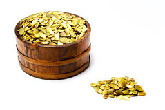 Pumpkin seeds Royalty Free Stock Photo