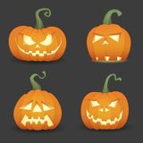 Pumpkin set Royalty Free Stock Photos